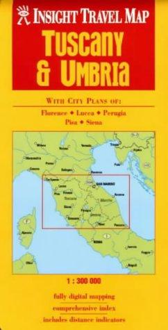 9789812347770: Tuscany and Umbria Insight Travel Map