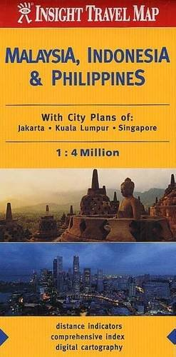 9789812349927: Insight Travel Maps: Malaysia, Indonesia & the Philippines