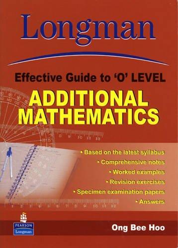 9789812357953: LEG O Level Additional Maths