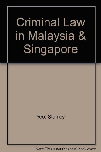 9789812369277: Criminal Law in Malaysia and Singapore, 2nd Edition