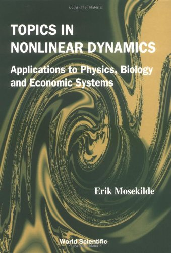 9789812382771: Topics in Nonlinear Dynamics: Applications to Physics, Biology and Economic Systems