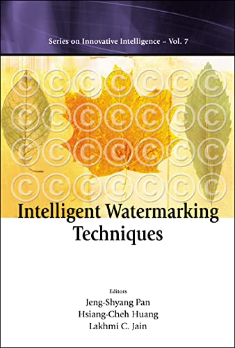 9789812387578: Intelligent Watermarking Techniques (Series on Innovative Intelligence: Vol. 7)(With CD-Rom)