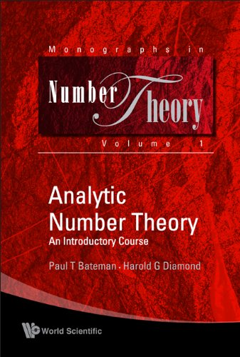 9789812389381: Analytic Number Theory: An Introductory Course (Monographs in Number Theory)