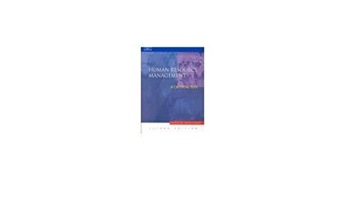 9789812402080: Human Resource Management