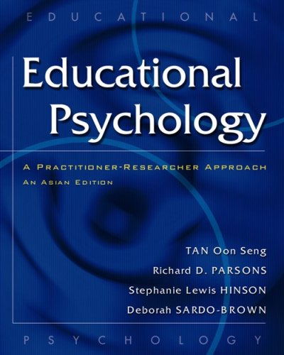 9789812430434: Education Psychology: A Practitioner-Research Approach