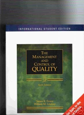 9789812435224: The Management Control of Quality 6th International Student Edition by Evans