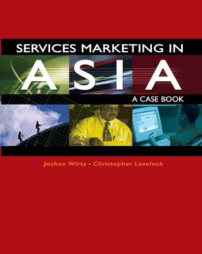 9789812449436: Services Marketing in Asia - A Case Book