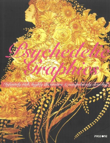 Psychedelic Graphic. Infinitely rich, highly decorative &