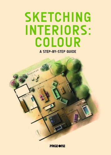 9789812458469: Sketching Interiors: Colour. A Step-by-Step Guide