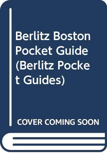 9789812460851: Berlitz Boston Pocket Guide (Berlitz Pocket Guides)