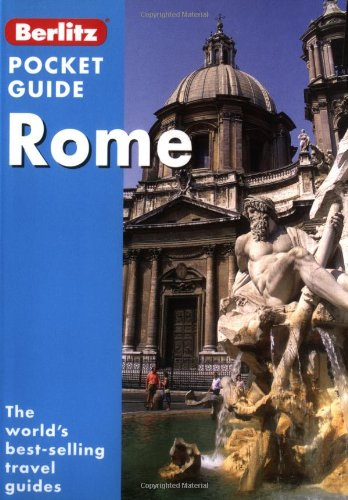 Rome (Berlitz Pocket Guides) (9789812460974) by Schultz, Patricia