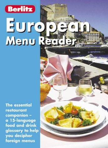 9789812461063: Berlitz European Menu Reader