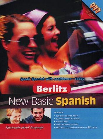 9789812462510: Berlitz New Basic Spanish