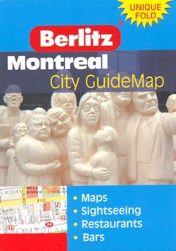 9789812464521: Montreal Berlitz Z Map