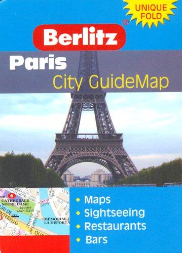 9789812464552: Paris Berlitz Z Map
