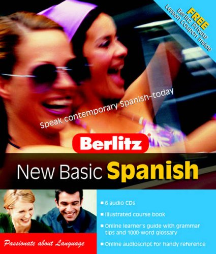 9789812466594: Berlitz New Basic Spanish (Spanish Edition)