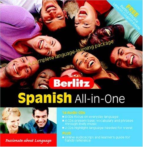 9789812466761: Spanish Berlitz All in One Pack (Berlitz Self Study)