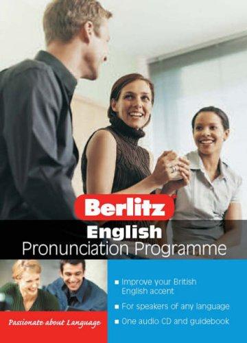 9789812466877: Berlitz English Pronunciation (Pronunciation Programme)
