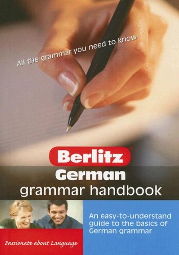 9789812466907: Berlitz German Grammar Handbook (Pocket Guide) (German Edition)