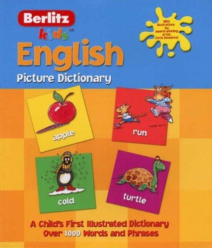 9789812467089: English Berlitz Kids Picture Dictionary (Berlitz Kids Picture Dictionaries)