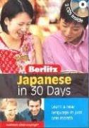 9789812468468: Japanese Berlitz in 30 Days (Japanese Edition)