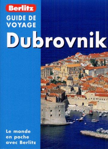 9789812468604: Dubrovnik, Guide de voyage