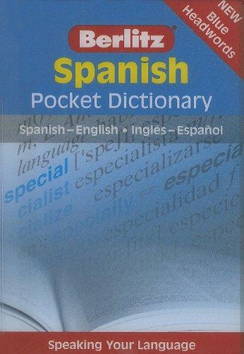9789812468727: Berlitz: Pocket Spanish Dictionary (Berlitz Pocket Dictionary)