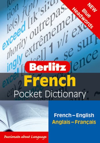 9789812468734: French Berlitz Pocket Dictionary (English and French Edition)