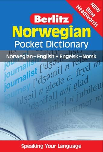 9789812469595: Norwegian Pocket Dictionary (Berlitz Pocket Dictionary)
