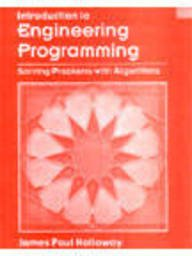 9789812530226: Introduction to Engineering Programming: Solving Problems with Algorithms