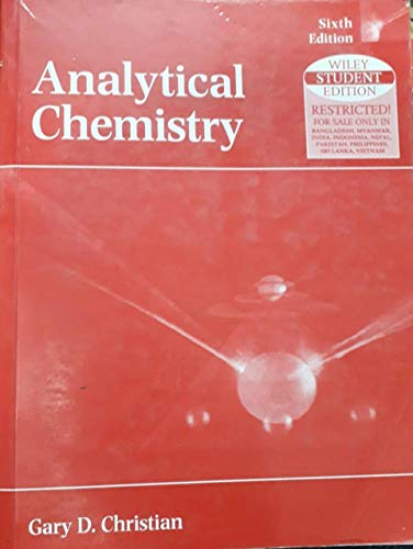 9789812530264: Analytical Chemistry