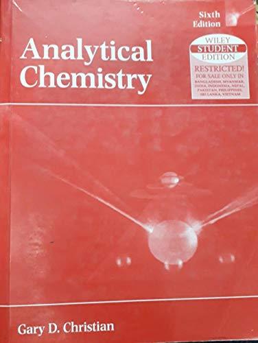 9789812530264: Analytical Chemistry