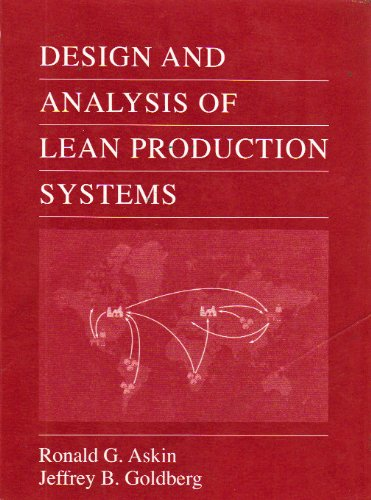 9789812530271: Design and Analysis of Lean Production Systems