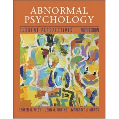 9789812530394: Abnormal Psychology 9th edition