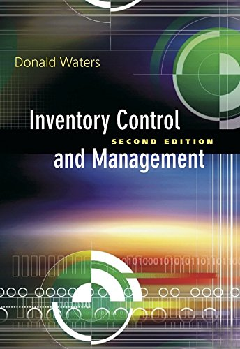 9789812531223: [(Inventory Control and Management )] [Author: Donald Waters] [Oct-2003]