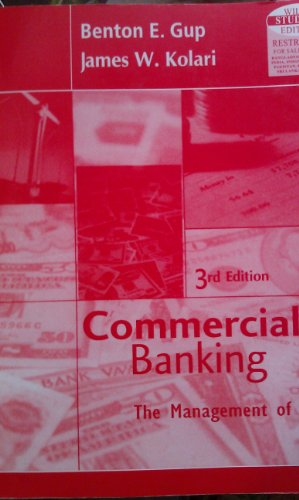 9789812531599: COMMERCIAL BANKING The Management of Risk