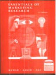 9789812531827: Essentials Of Marketing Research, 2E