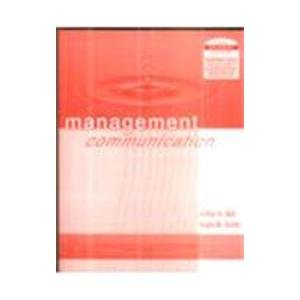9789812531841: Management Communication