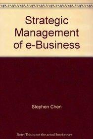 9789812531896: Strategic Management of E-business