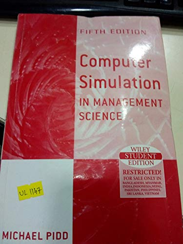 9789812531933: Computer Simulation in Management Science