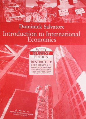 9789812532145: Introduction to International Economics