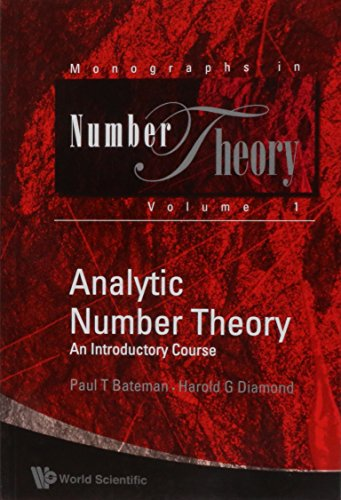 9789812560803: Analytic Number Theory: An Introductory Course (Monographs in Number Theory)