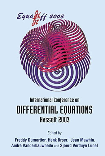 9789812561695: Equadiff 2003 - Proceedings of the International Conference on Differential Equations (B)