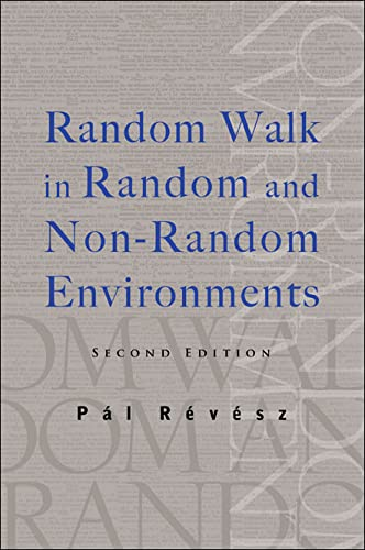 Random Walk in Random and Non-random Environments.: R?v?sz, P?l.
