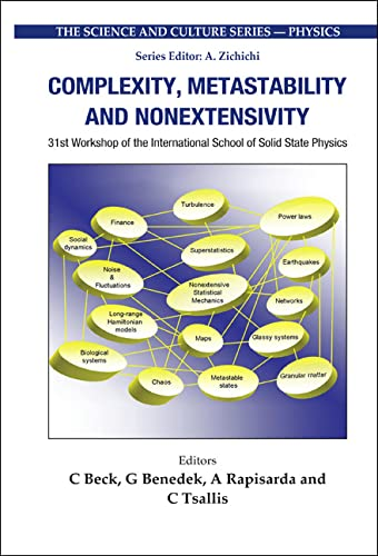 9789812565259: Complexity, Metastability And Nonextensivity (Science and Culture: Physics)