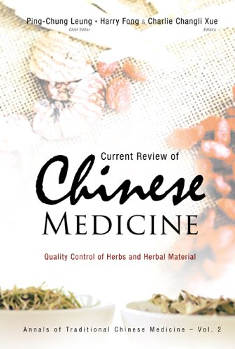 Current Review of Chinese Medicine: Quality Control: Ping-Chung Leung (Editor),