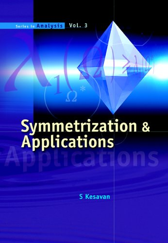 9789812567338: Symmetrization And Applications (Series in Analysis)