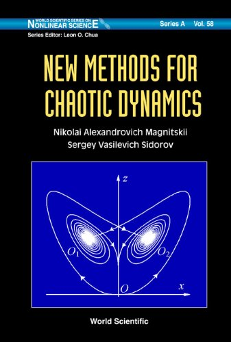 9789812568175: New Methods for Chaotic Dynamics (World Scientific Series on Nonlinear Science, Series a)