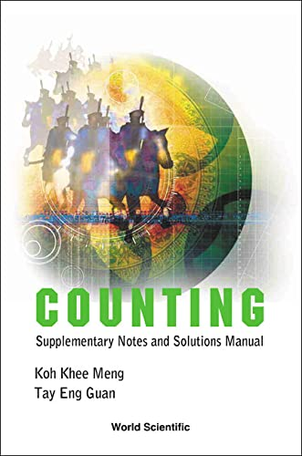 Counting: Supplementary Notes And Solutions Manual: Koh, Khee-Meng