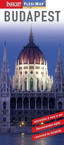 Budapest Insight Flexi Map Rl